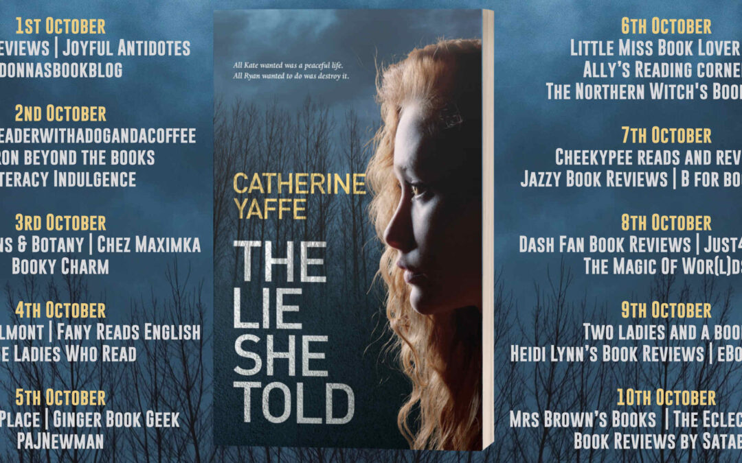The Lie She Told Blog Tour