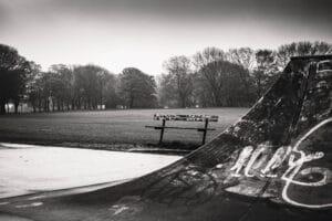 Woodhouse Moor Skate Park, May 2021 Mark Skeet Photographu